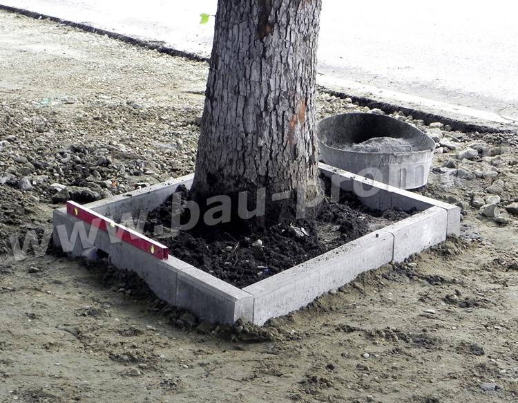 Как сделать бордюры вокруг дерева